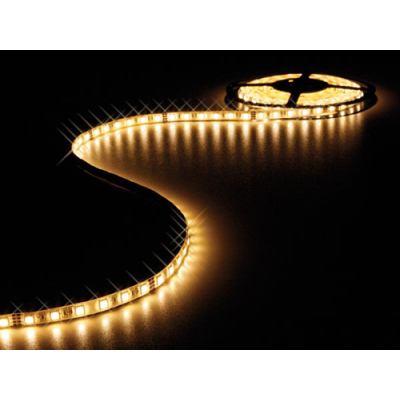 LED Strip Warm Wit 5 meter IP68 12V 60 LEDs type 5050 per meter)