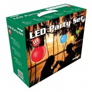 LED Prikkabel complete set 12,5M met 20 lampen in 5 kleuren