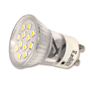 Kleine 2W GU10 LED lamp (35mm)