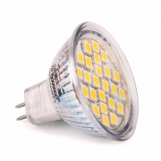 MR16 spot 24 SMD LED Warm Wit (12V)
