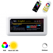 Mi-Light RGB controller voor strips (via WiFi en/of AB. RGB)