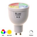 Mi-Light GU10 RGBW LED Spot 4W (Kleuren én Warm wit) WiFi en/of RF!