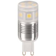 3W G9 LED lamp (2700k) vervangt 24W