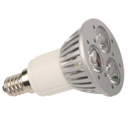 E14 3W Power LED spot (vervangt 20W)