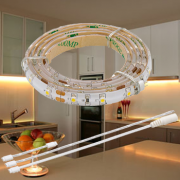 LED Strip 1 meter Warm Wit met 60 LEDs (12V) Plug & Play