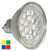 MR16 LED lampen, 12V Rood