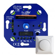 Professionele LED Dimmer 0-150W fase-AFsnijding incl frontje
